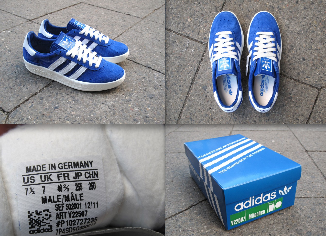 adidas shoes made in germany