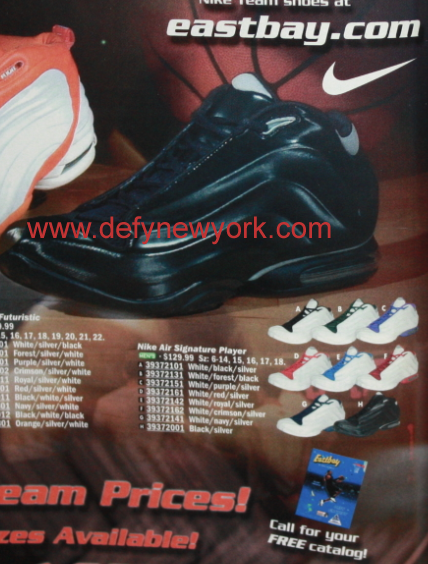Nike Air Signature Player (2001)