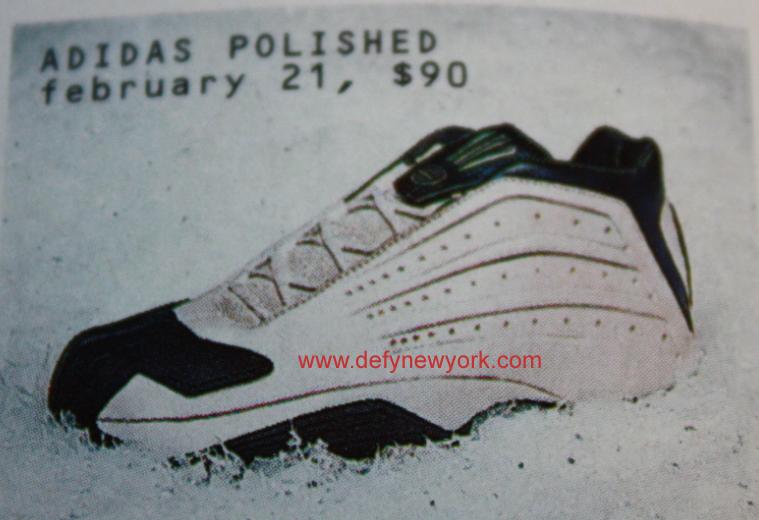 Adidas Polished Basketball Shoe 2003