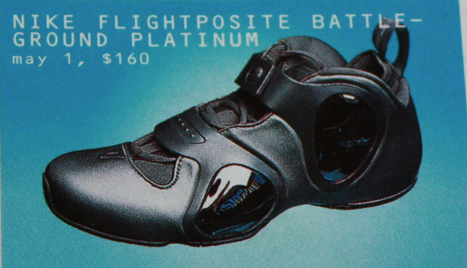 40189490d Nike Flightposite Battle Ground III Platinum Edition Basketball Sneaker  2002. The Flightposite ...