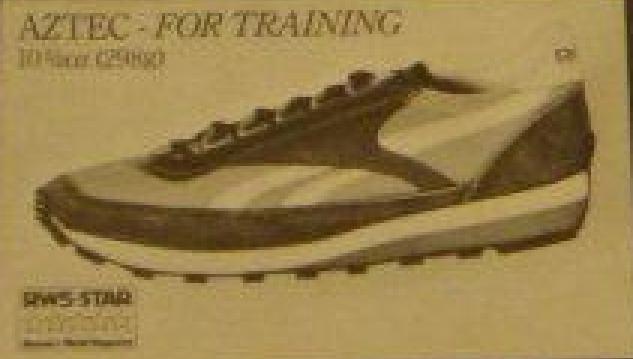 Reebok Aztec Training Shoe Original (1979)