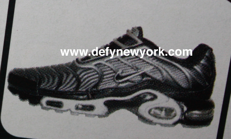 5c6450646170 Nike Air Max Plus Slip (Laceless) On Black Silver 2001   DeFY. New ...