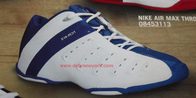 3a195f389603 And 1 Madness Basketball Shoe White Blue 2004   DeFY. New York ...