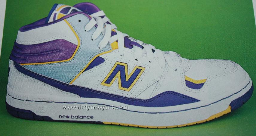 5300d3e85a40 New Balance BB800 White Purple Yellow James Worthy Retro 2003 – DeFY ...