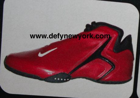 Nike Hyper Flight Red Basketball Shoe 2001