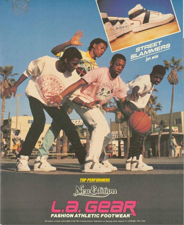 L.A. Gear Street Slammers Basketball