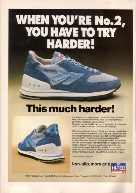 HI-TEC Silver Shadow Running Shoe 1984
