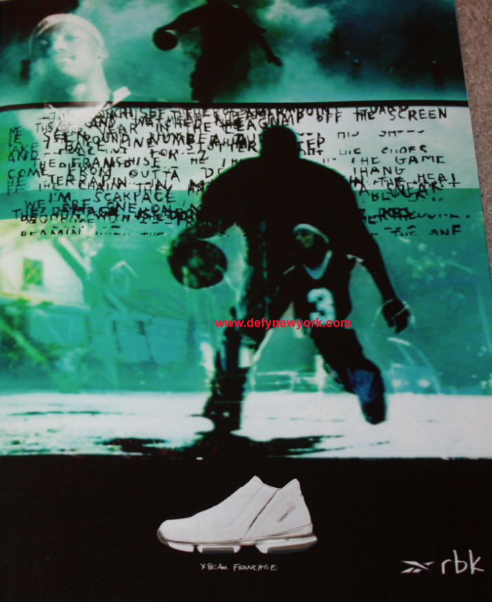 b116db23618e Reebok X Beam Franchise Steve Francis Basketball Shoe 2002   DeFY ...