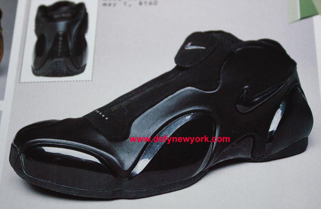 nike ultraposite blackblack basketball shoe 2003 � defy
