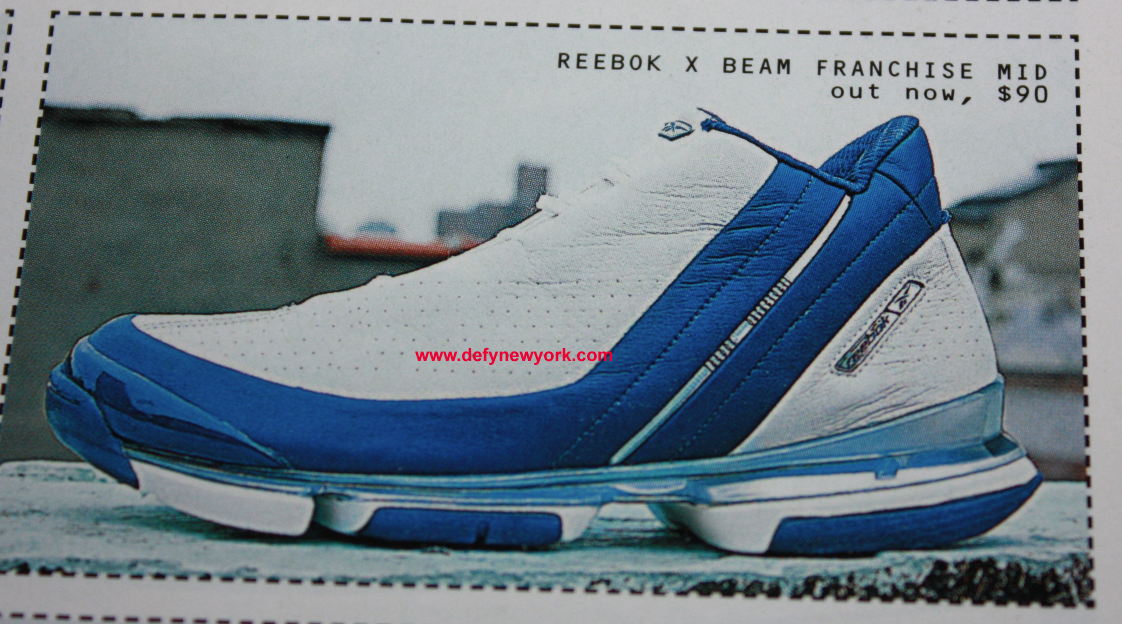 6074229f352 ... reebok x beam franchise mid steve francis white blue basketball ...