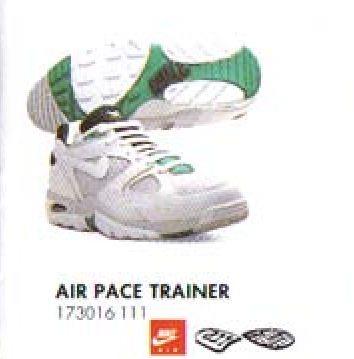 sale retailer c921c 092e2 Nike Air Pace Trainer 1992