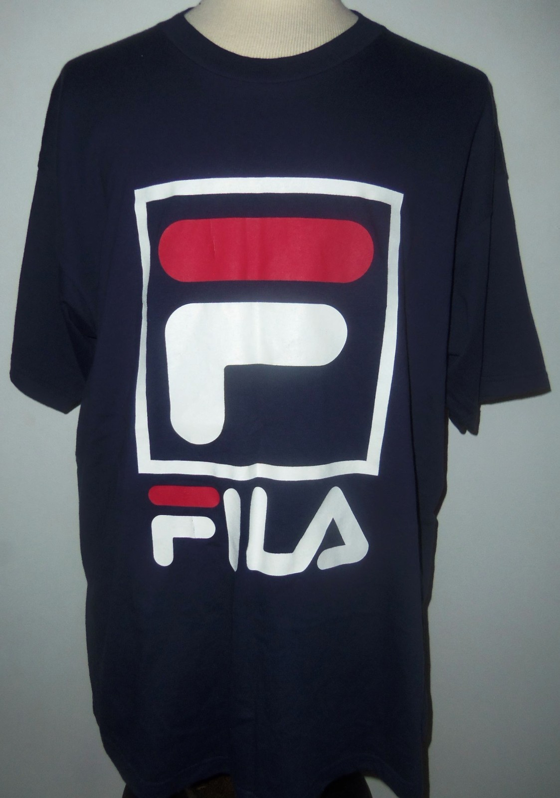 Fila T Shirt 1996 Defy New York Sneakers Music Fashion