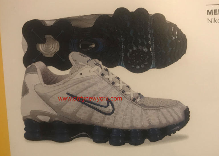 detailed pictures a4b82 8b40e Nike Shox TL Running Shoe Black Blue 2003-2004 – DeFY. New York-Sneakers ,Music,Fashion,Life.