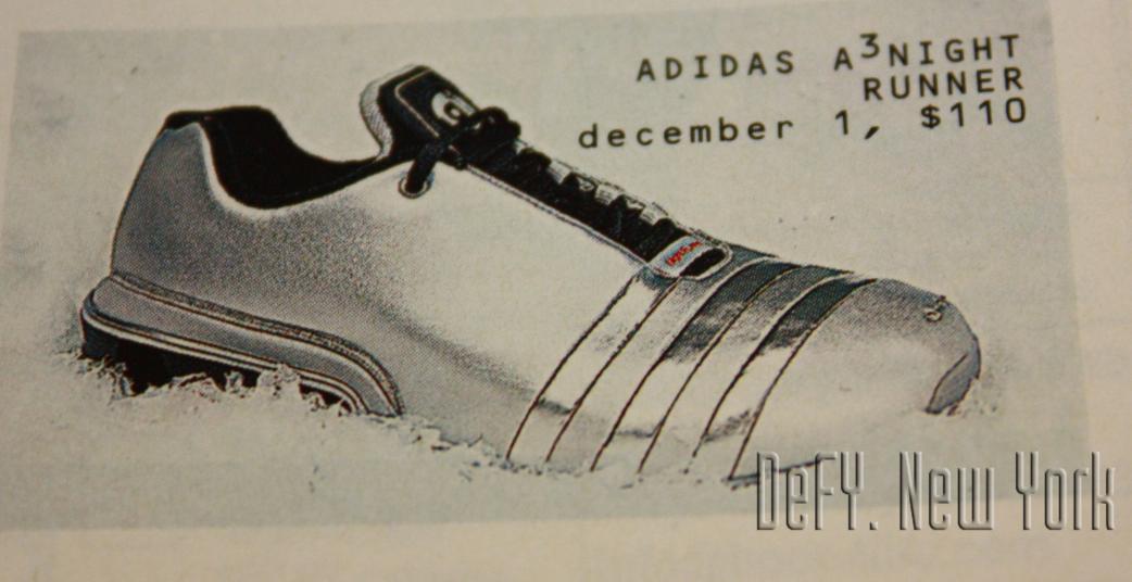 Adidas A3 Night Runner Running Shoe Metallic Silver 2003 ...