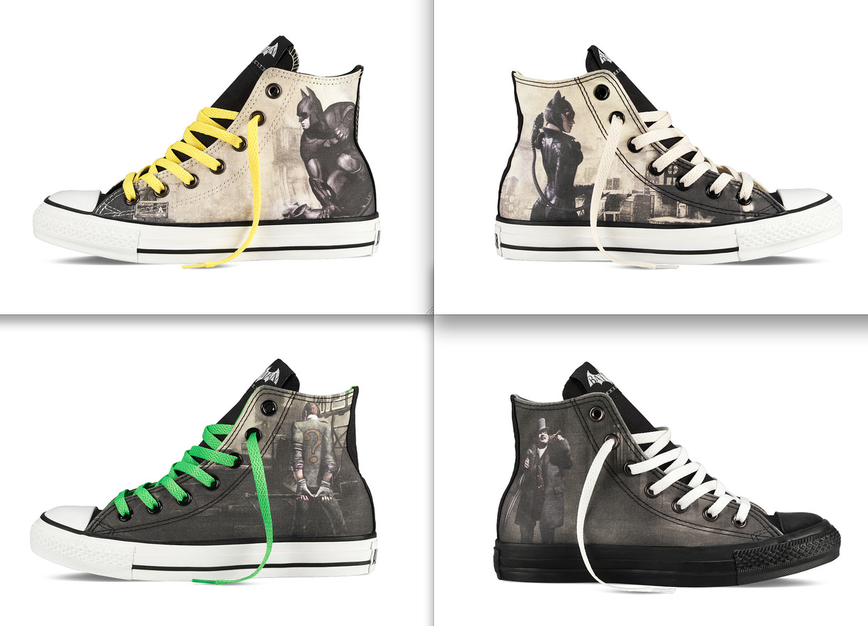 adafc29ae7414a Design Your Own DC Comics Batman  Arkham City Chuck Taylor All Star Holiday  2012