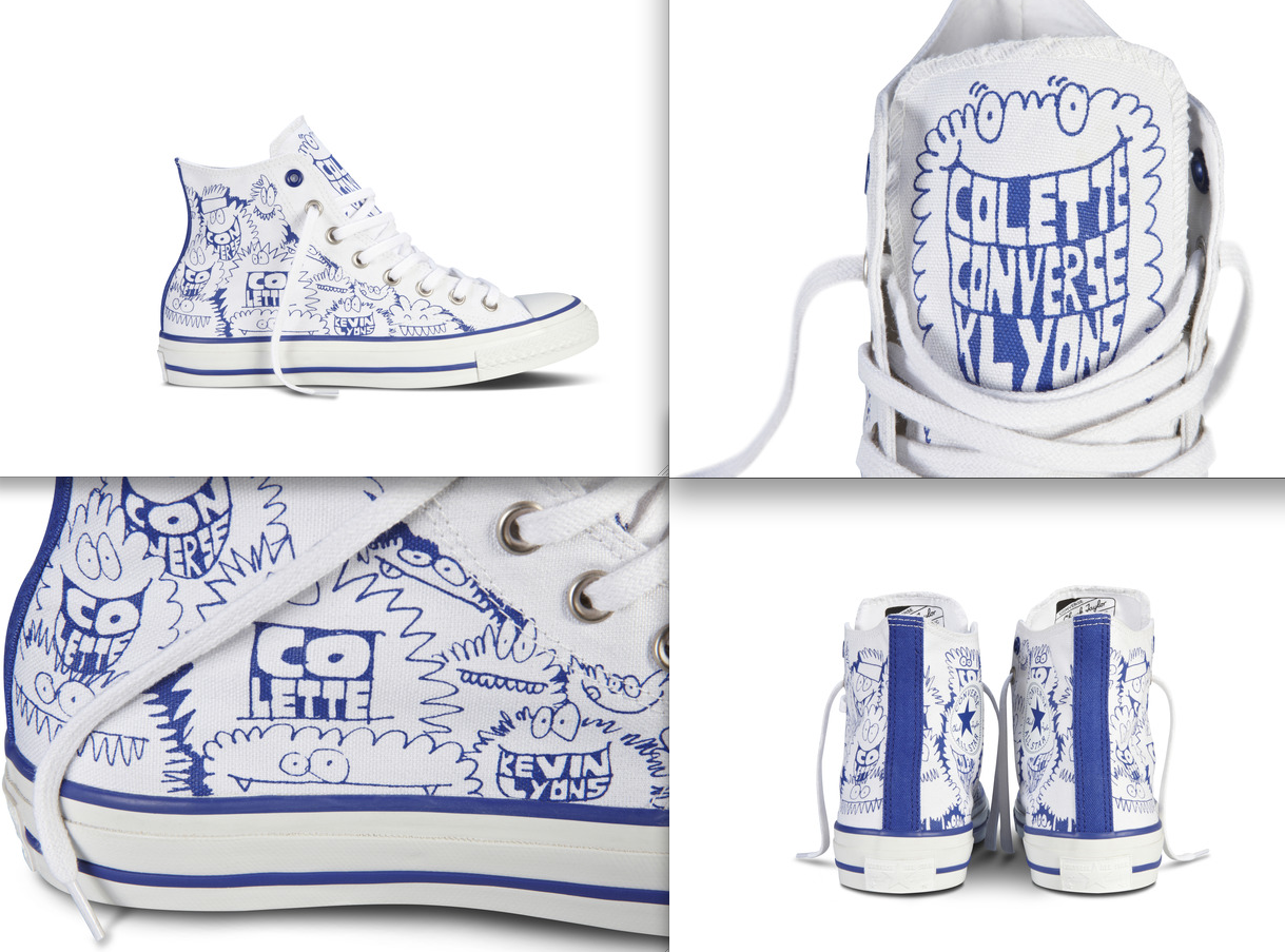 98cb3dfbaff9 ... Converse Chuck Taylor All Star Sneaker x Kevin Lyons For Colette .