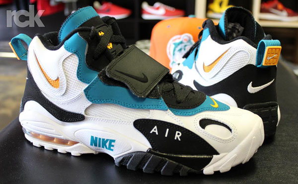 designer fashion 1ab68 0ce81 Nike-Air-Max-Speed-Turf-Dolphins – DeFY. New York-Sneakers ...