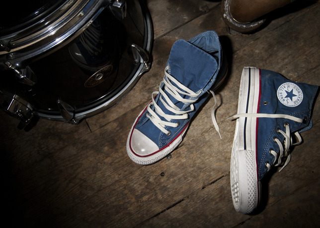 Converse Presents The Chuck Taylor All Star Well Worn Collection ... 2b326c1f8