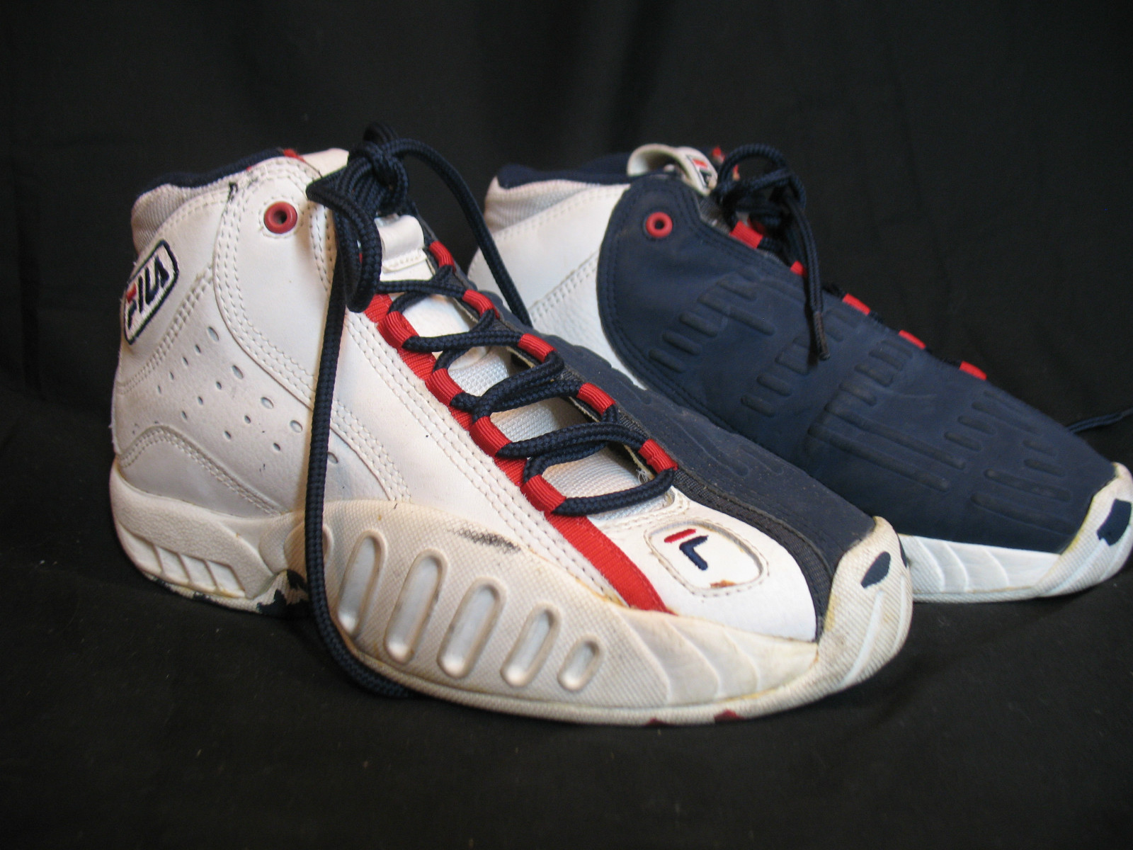 FILA Lean Mid Jerry Stackhouse Basketball Shoe 1998 DeFY New York