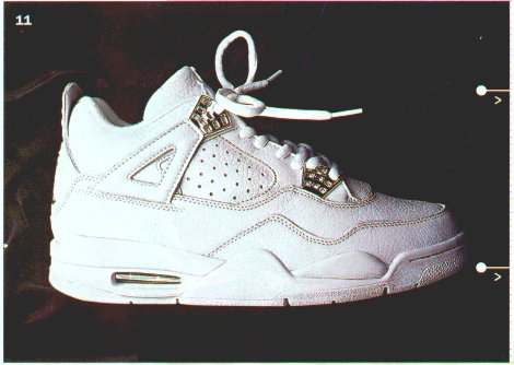 Revisit  Nike Air Jordan IV 4 White White-Chrome Aka Bling Bling ... 9f996eece9