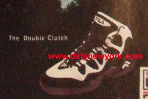 FILA The Double Clutch Basketball Shoe 1995 – DeFY. New York