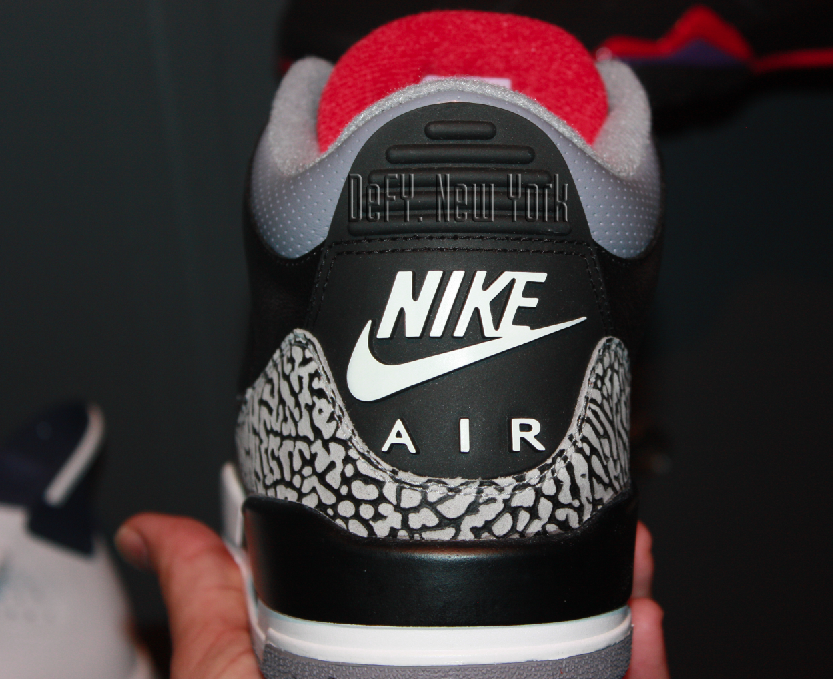 20cfd3850c955e First Official Look At Possible Black Cement Nike Air Jordan III 88 2014  Re-Re-Retro