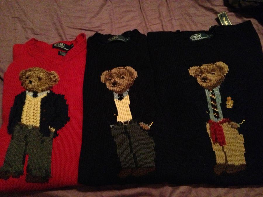 Every Bear Isnt Created Equal The Macys Polo Bear Sweater Vs