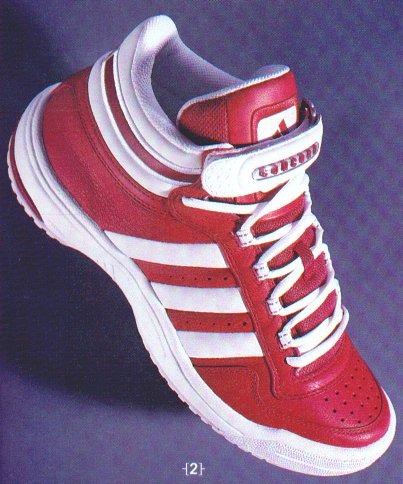 meilleures baskets ae208 f533c Adidas Concord Supreme Retro Basketball Shoe White Red 2000 ...