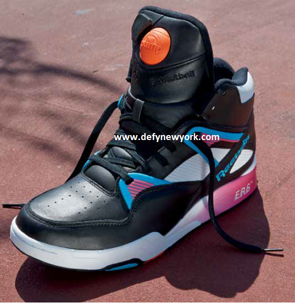 Reebok Omni Zone Pump Black Pink Fusion  Switch Blue 2014   DeFY ... 810921a5a