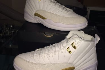 8389be7d716350 Drake s OVO Nike Air Jordan XII For Sale On eBay