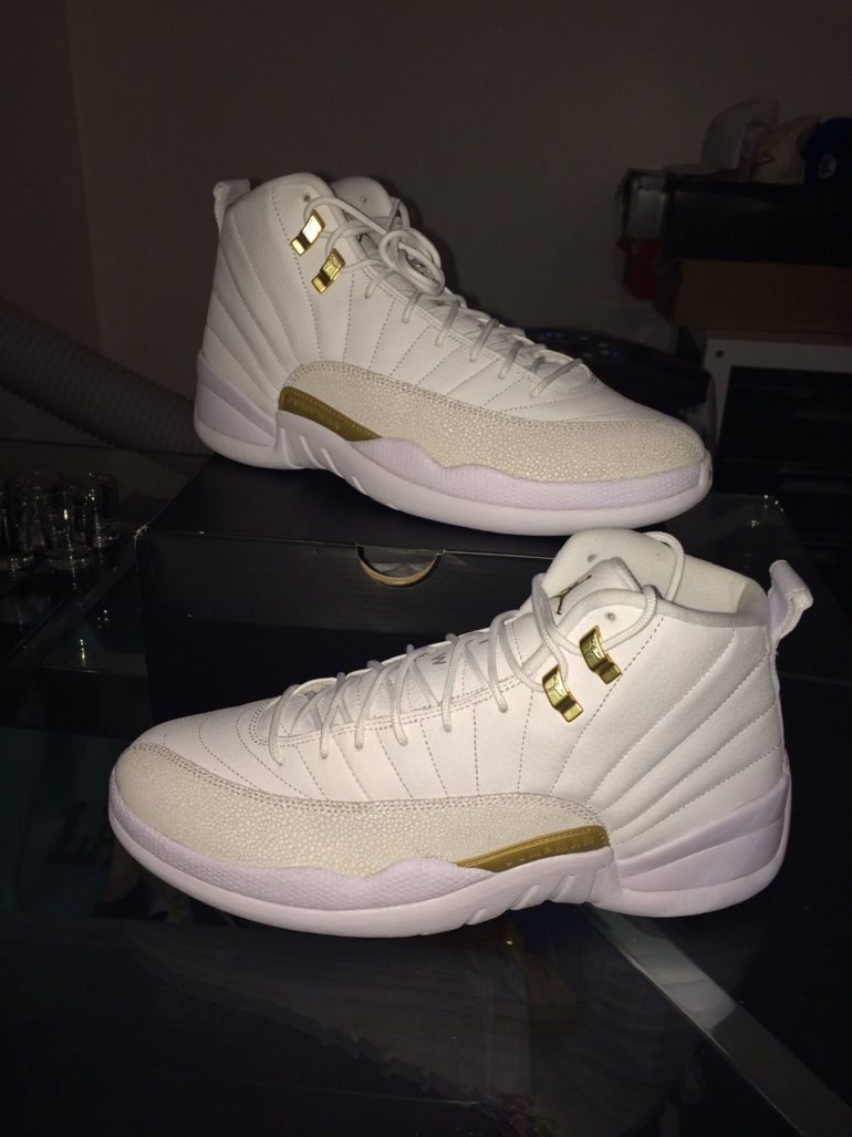 huge discount e68ac 43a06 Drake s OVO Nike Air Jordan XII For Sale On eBay