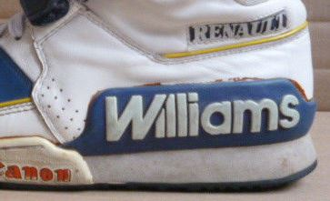 competitive price 84953 16519 The Unofficial Sneaker Of Formula 1 Racing  Renault Williams F1 Racing  Sneakers 1980 s – DeFY. New York-Sneakers,Music,Fashion,Life.