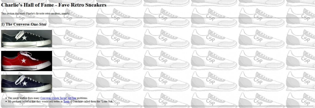 charlies sneaker page 12