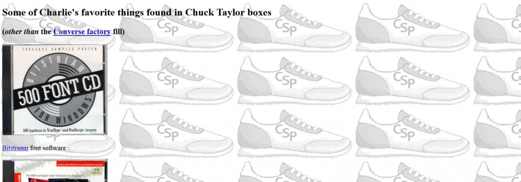charlies sneaker page 2
