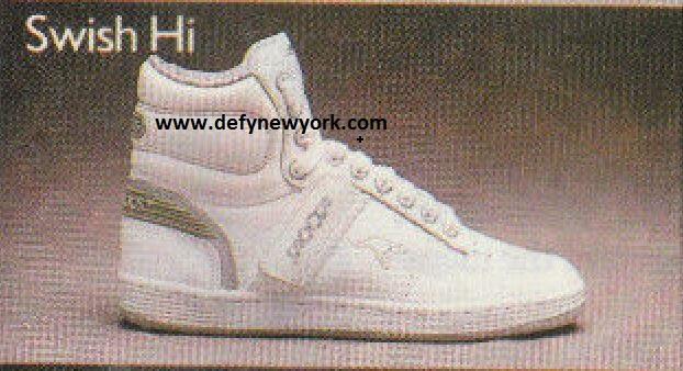 KangaROOS Swish Hi Basketball Shoe 1988