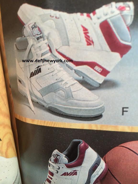 a2c25368def5 Avia 860 Basketball Shoe High Top 1989 – DeFY. New York-Sneakers ...