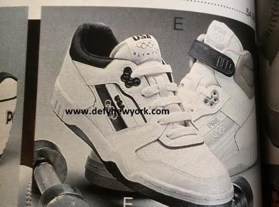b4271813b425 JCPenney USA Olympics Brand Sneakers 1981   DeFY. New York-Sneakers ...
