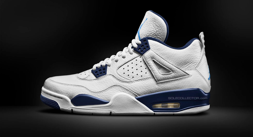 Air Jordan IV Remastered Navy Columbia(1)