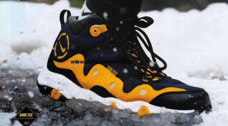a7433f13f4e Revisit  Nike Air Minot Gore-Tex Running Shoe 1997 – DeFY. New York ...