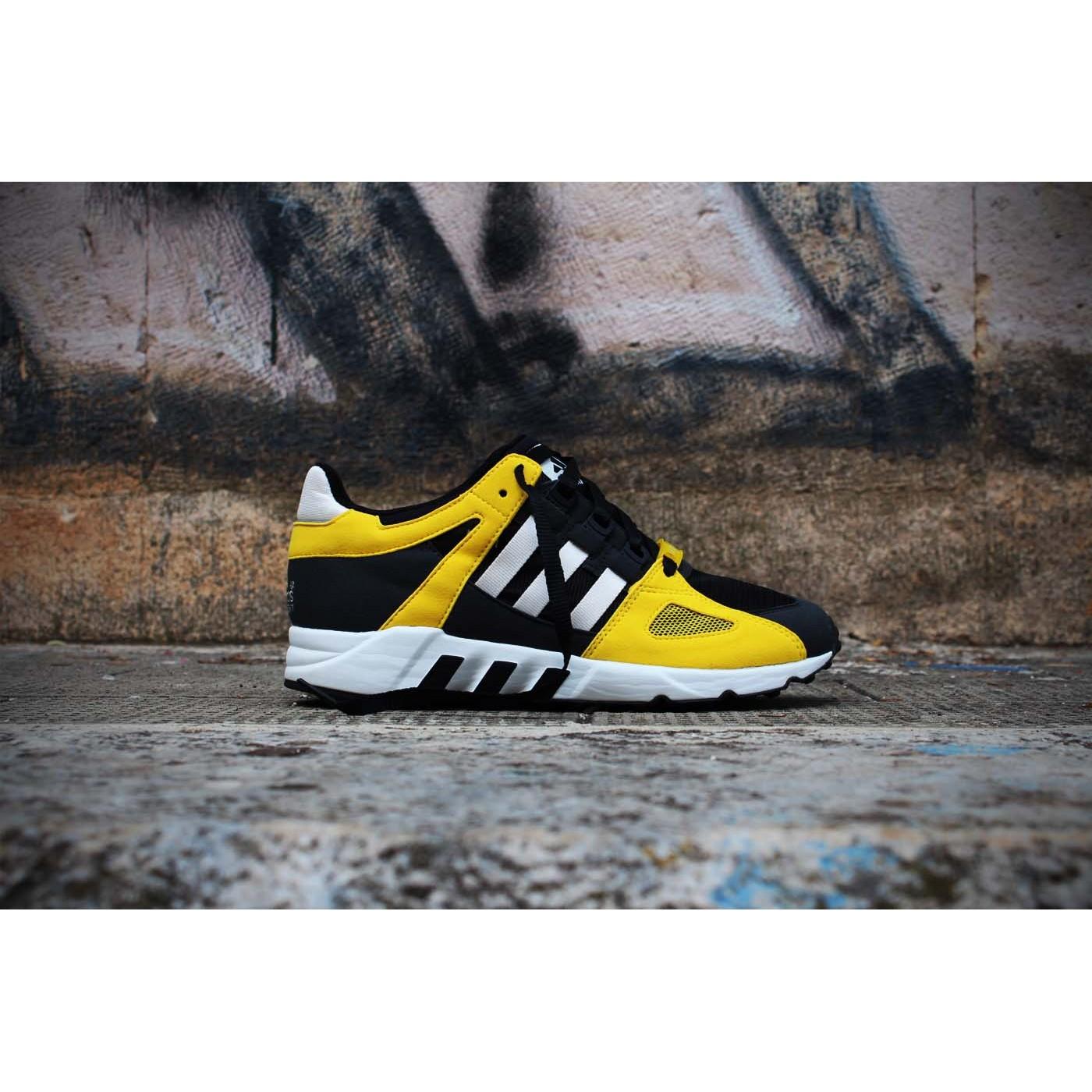 promo code e8d71 d4b57 Adidas EQT Guidance 93 Retro Black Sun Yellow