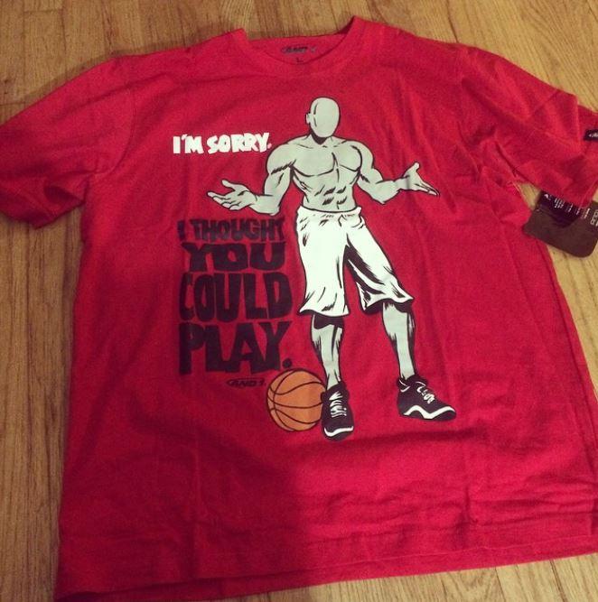 and 1 shirt