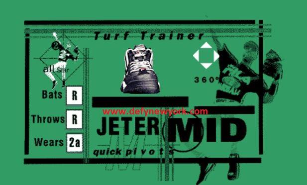fila jeter 1998 tagged