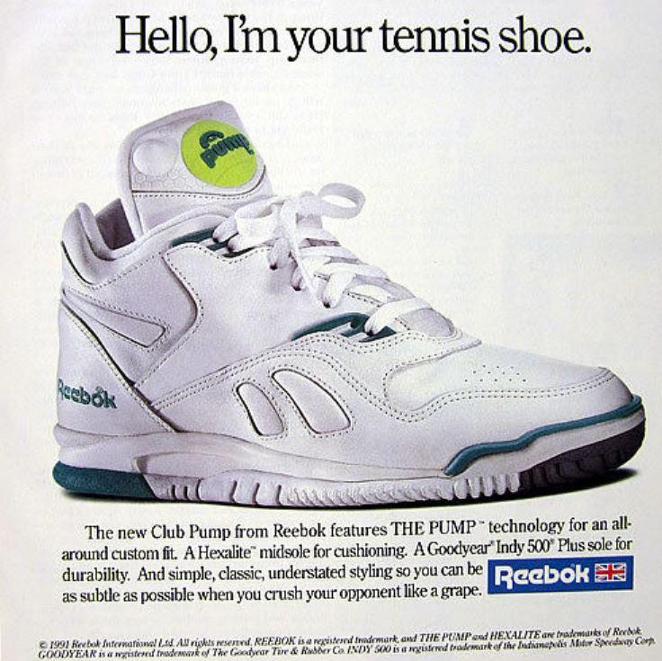 reebok club pump 1991a