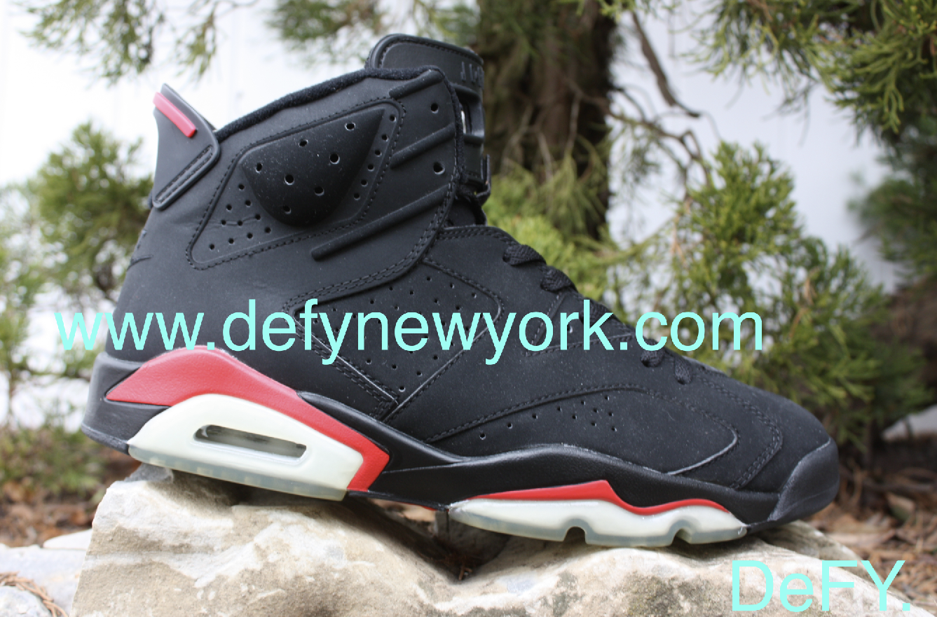 promo code 2775a 0e284 Ten years later the black infrared VI would return but this time as part of  a pack, with no Nike Air branding and an almost velvet like nubuck upper  that ...