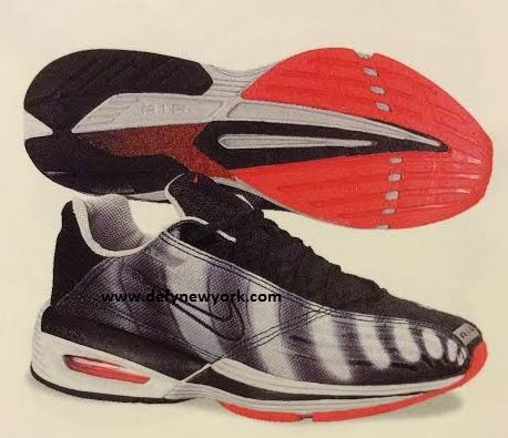 1cdff95e905 Nike Air Turbulence II Neutral Grey Black Comet Red 2000   DeFY. New ...