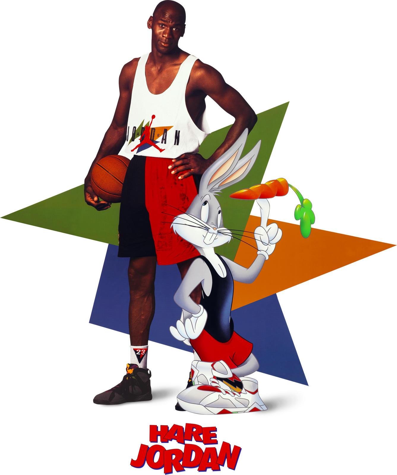 "3b426846414cb2 Hare"" We Go Again  Michael Jordan And Bugs Bunny Reunite For Spring ..."