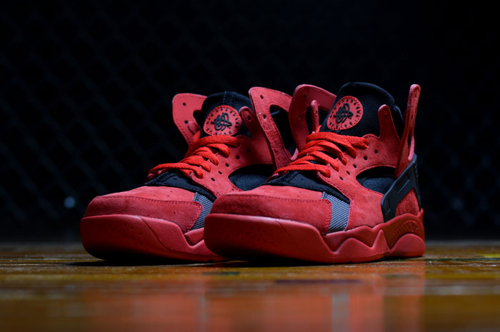 c382fa4a35b1 Nike Air Flight Huarache University Red Black 705005-600 2015 – DeFY ...