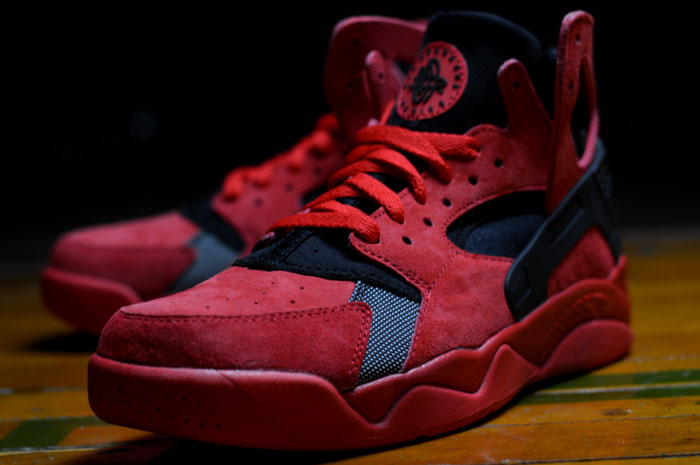 a72766839bd2 Nike Air Flight Huarache University Red Black 705005-600 2015 – DeFY. New  York-Sneakers