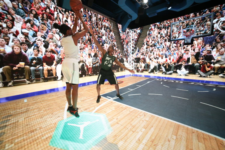 c22c4ae541f808 Jordan Brand s Carmelo Anthony and Tinker Hatfield Attend All-Star Weekend  Pearl Pavilion Unveil Event – DeFY. New York-Sneakers