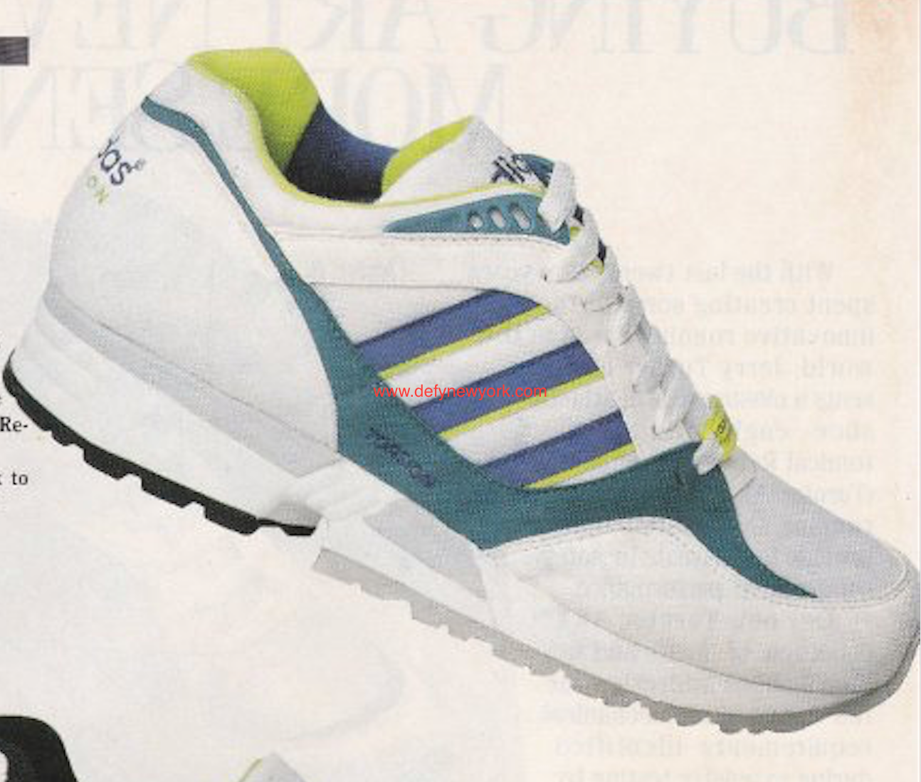 95d5c73df32838 Adidas Torsion Response Running Shoe 1991   DeFY. New York-Sneakers ...